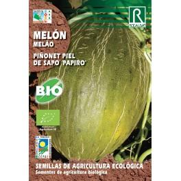 """Semilla melón piñonet piel de sapo """"papiro"""" (ecológica)"""